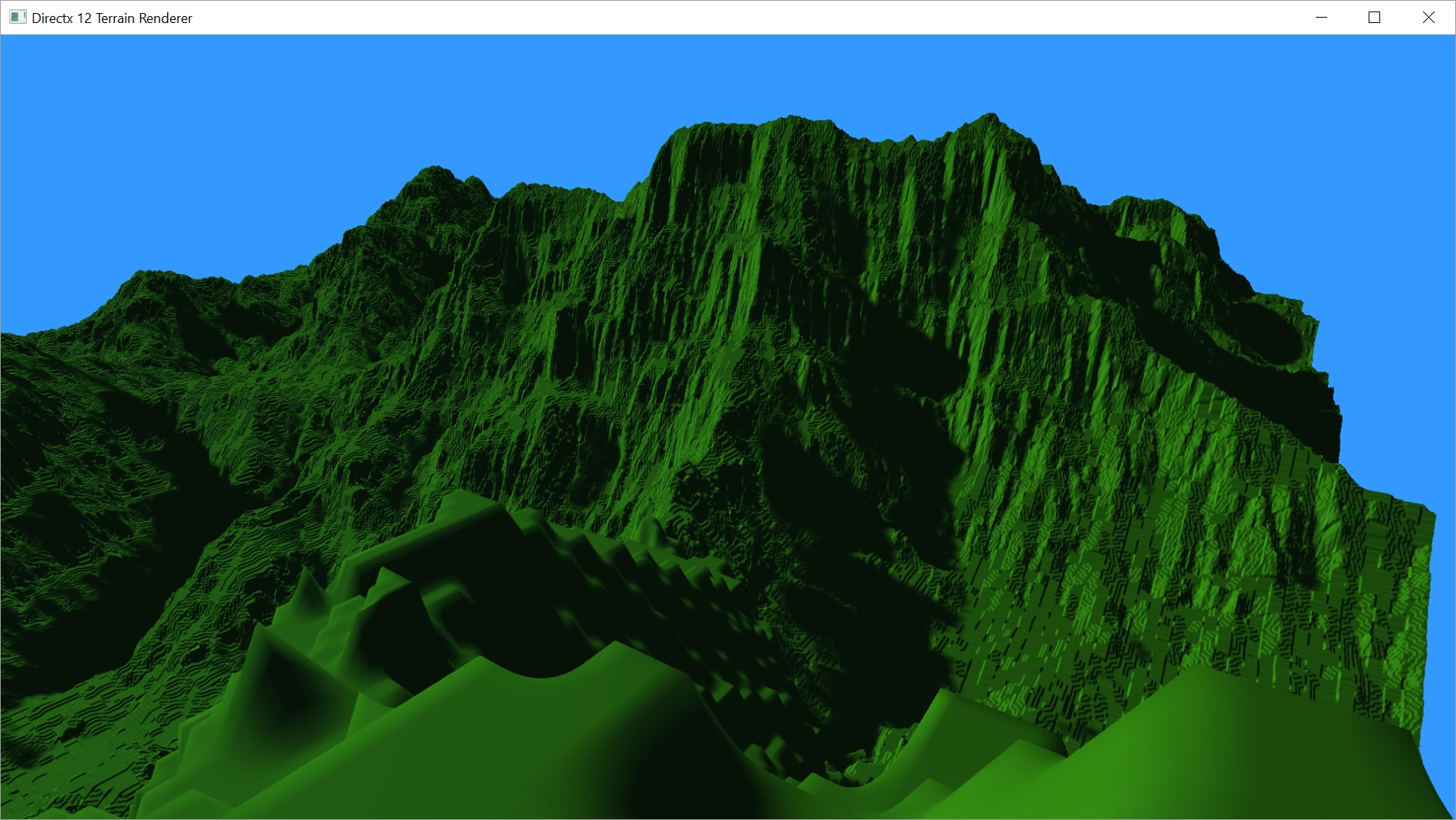 directx 11 orthographic projection